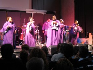 Gospel always wows the Italians