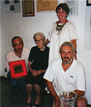Giuseppe's Impastato brother, mother, Anne, Pino