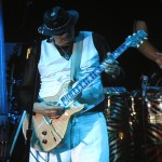 Santana and guitar, Umbria Jazz 2011