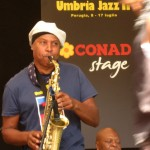 Sax takes over - Umbria Jazz, July 2011