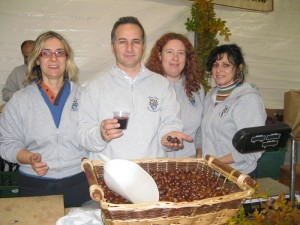 Chestnuts and new wine