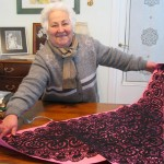 Signora-Rosina-proudly-shows-a-shawl,-lace-masterpiece
