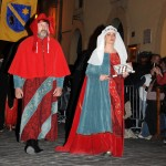 Narni nobility in nighttime procession - Thanks to Ambra and Marco for the photos - http://www.fotovideonarni.com