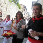 Gubbio-opens-its-doors---and-wine-cellars!---to-the-band-and-guests