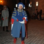 Narni nobleman in 14th-c dress - Thanks to Ambra and Marco for the Narni photo - www.fotovideonarni.com