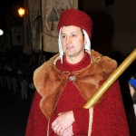 Young Narni nobleman - Thanks to Ambra and Marco for the photos - www.fotovideonarni.com