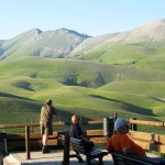 Enjoying-the-evening-air-and-the-views-in-Castelluccio