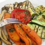 Grilled vegetable goodness at Ristorante Oso