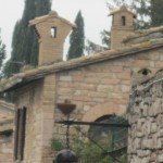 Chimneys are Assisi artworks