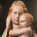 Virgin and Child after restoration
