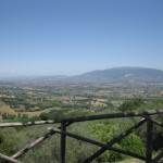 A view from Montefalco, the balcony of Umbria