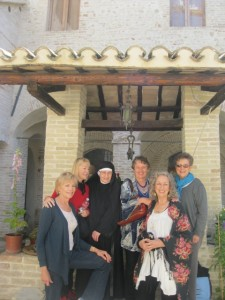 A visit with Suor Giovanna in the medieval cloister