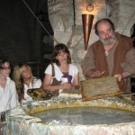 Learning the art of making paper in the Middle Ages.in Bevagna