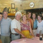 Lunch with Paolo and Giuseppa - an Umbria highlight!