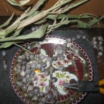 Seeds for the rosary-making