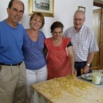 olga's pasta - with guests