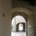 Vaulted backstreets of S. Anatolia di Narco