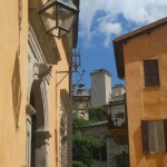 A Spoleto view - 14th -c fortress